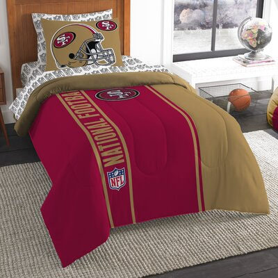 NFL 49Ers Comforter Set Size: Twin