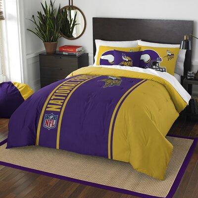 NFL Vikings Helmet Comforter Set Size: Full