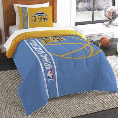 NBA Nuggets Basketball 2 Piece Twin Comforter Set