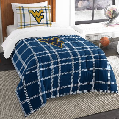 Collegiate West Virginia Comforter Set Size: Twin