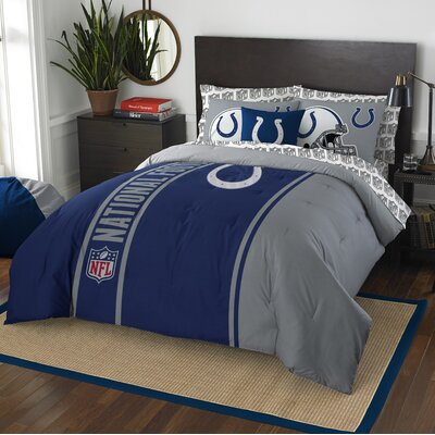 NFL Colts Comforter Set Size: Full