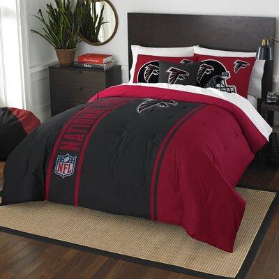 NFL Falcons Helmet Comforter Set Size: Full