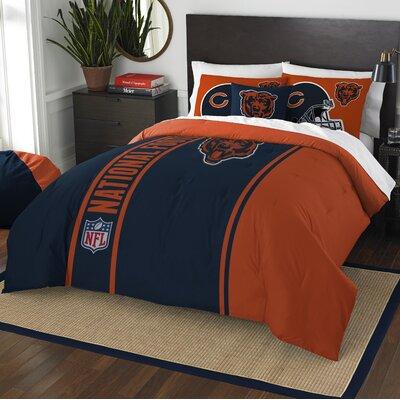 NFL Bears Helmet Comforter Set Size: Full