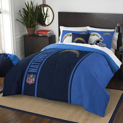 NFL Chargers Helmet Comforter Set Size: Full