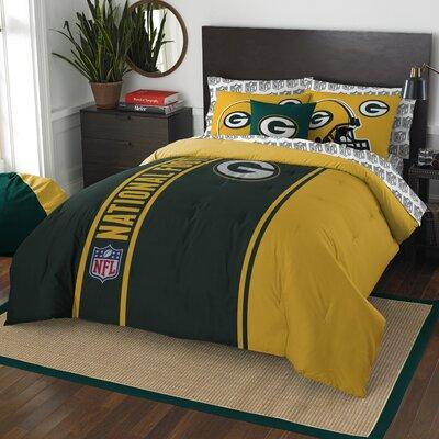 NFL Packers Comforter Set Size: Full