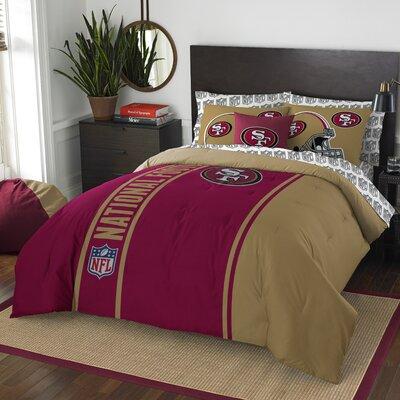 NFL 49Ers Comforter Set Size: Full