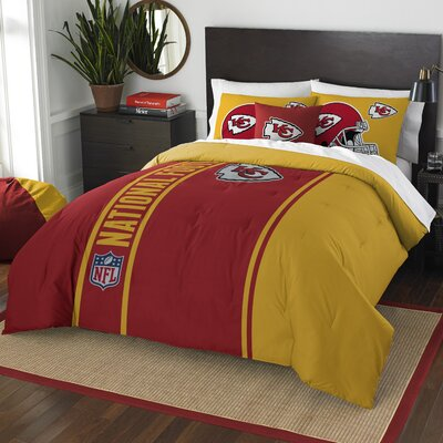 NFL Chiefs Helmet Comforter Set Size: Full