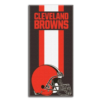 NFL Browns Zone Read Beach Towel