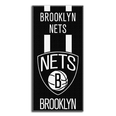 NBA Zone Read Beach Towel NBA Team: BrooklynNets