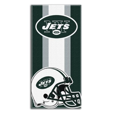 NFL Zone Read Beach Towel NFL Team: Raiders