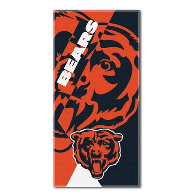 NFL Bears Puzzle Beach Towel