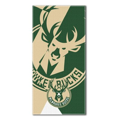 NBA Bucks Puzzle Beach Towel