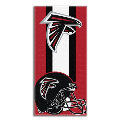 NFL Falcons Zone Read Beach Towel