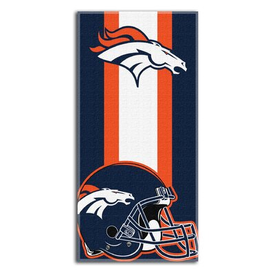 NFL Broncos Zone Read Beach Towel