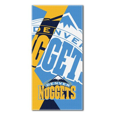 NBA Nuggets Puzzle Beach Towel