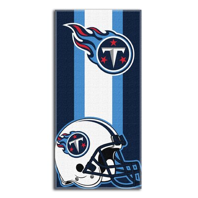 NFL Zone Read Beach Towel NFL Team: Titans