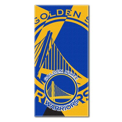 NBA Warriors Puzzle Beach Towel