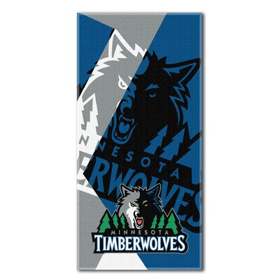 NBA Timberwolves Puzzle Beach Towel