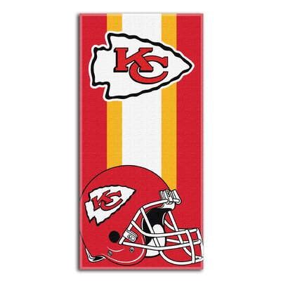 NFL Zone Read Beach Towel NFL Team: 49Ers