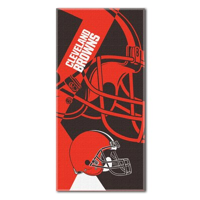 NFL Browns Puzzle Beach Towel