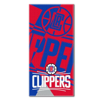 NBA Clippers Puzzle Beach Towel