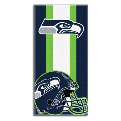 NFL Seahawks Zone Read Beach Towel