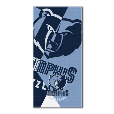 NBA Grizzlies Puzzle Beach Towel