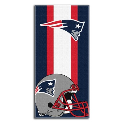 NFL Zone Read Beach Towel NFL Team: Seahawks