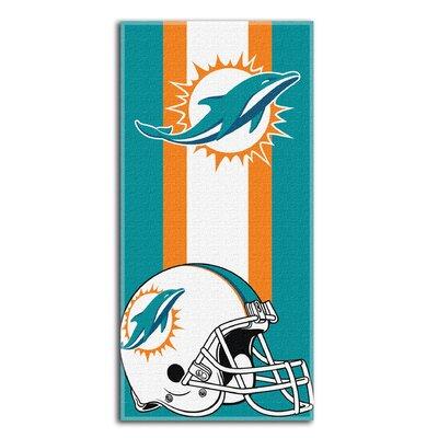 NFL Dolphins Zone Read Beach Towel