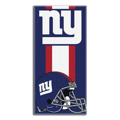 NFL New York Giants Zone Read Beach Towel