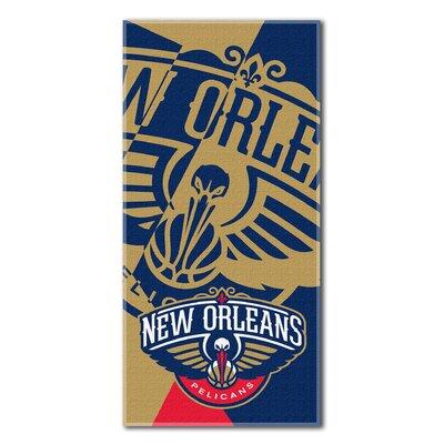 NBA Pelicans Puzzle Beach Towel