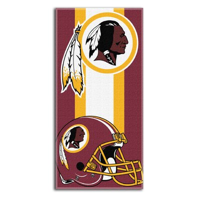 NFL Redskins Zone Read Beach Towel