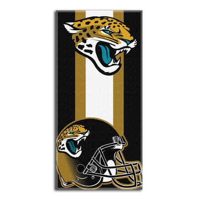 NFL Zone Read Beach Towel NFL Team: Jaguars