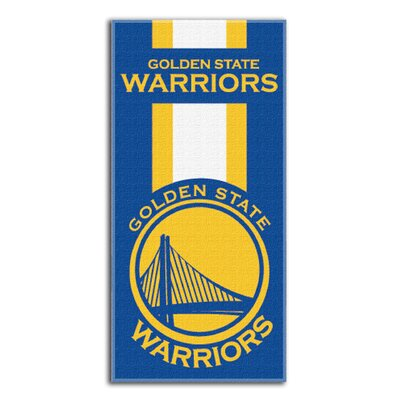 NBA Zone Read Beach Towel NBA Team: Warriors