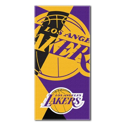 NBA Lakers Puzzle Beach Towel