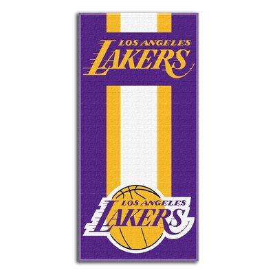 NBA Lakers Zone Read Beach Towel