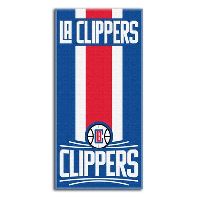 NBA Zone Read Beach Towel NBA Team: Clippers