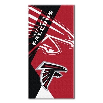 NFL Falcons Puzzle Beach Towel