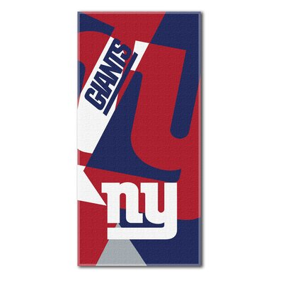 NFL Puzzle Beach Towel NFL Team: New York Giants
