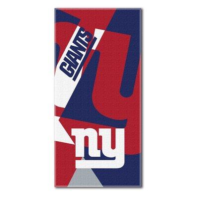 NFL New York Giants Puzzle Beach Towel