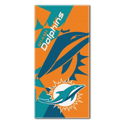 NFL Dolphins Puzzle Beach Towel