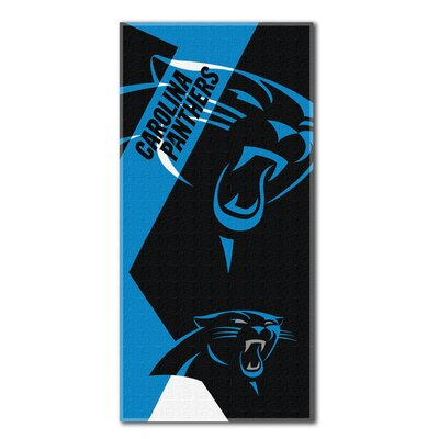 NFL Panthers Puzzle Beach Towel