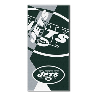 NFL Jets Puzzle Beach Towel