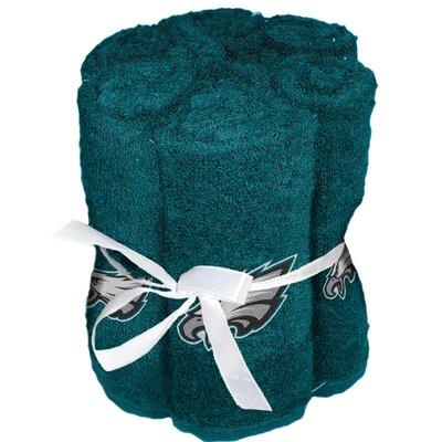 NFL Eagles Wash Cloth