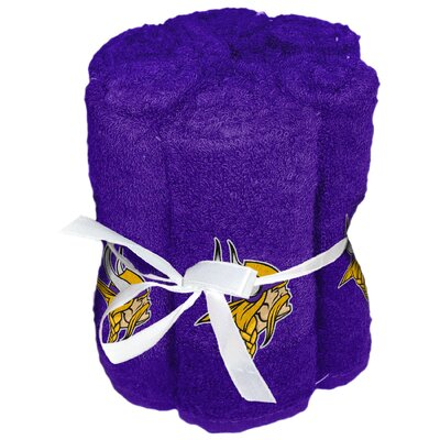 NFL Vikings Wash Cloth
