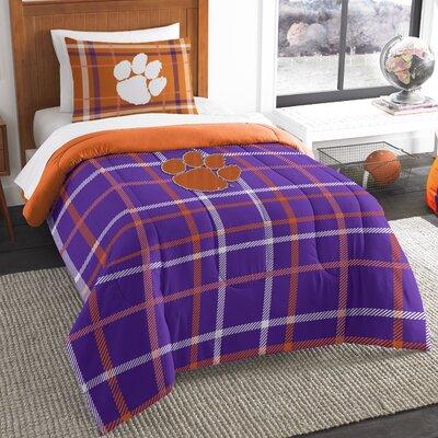Collegiate Clemson Comforter Set Size: Twin