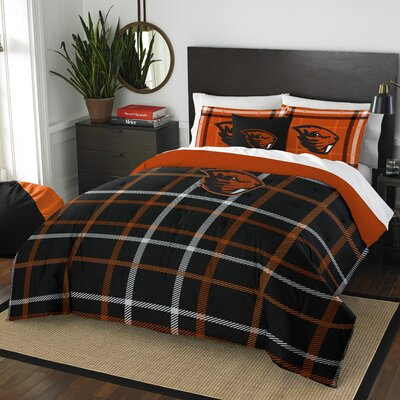 Collegiate Oregon State Comforter Set Size: Full