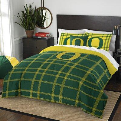Collegiate Oregon Comforter Set Size: Full