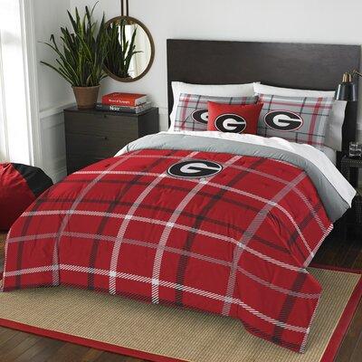 Collegiate Georgia Comforter Set Size: Full
