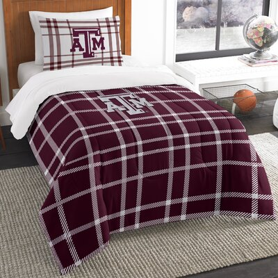 Collegiate Texas A&M Comforter Set Size: Twin